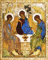 "Икона ""Троица"". Андрей Рублев (аналойный размер), фото 1"