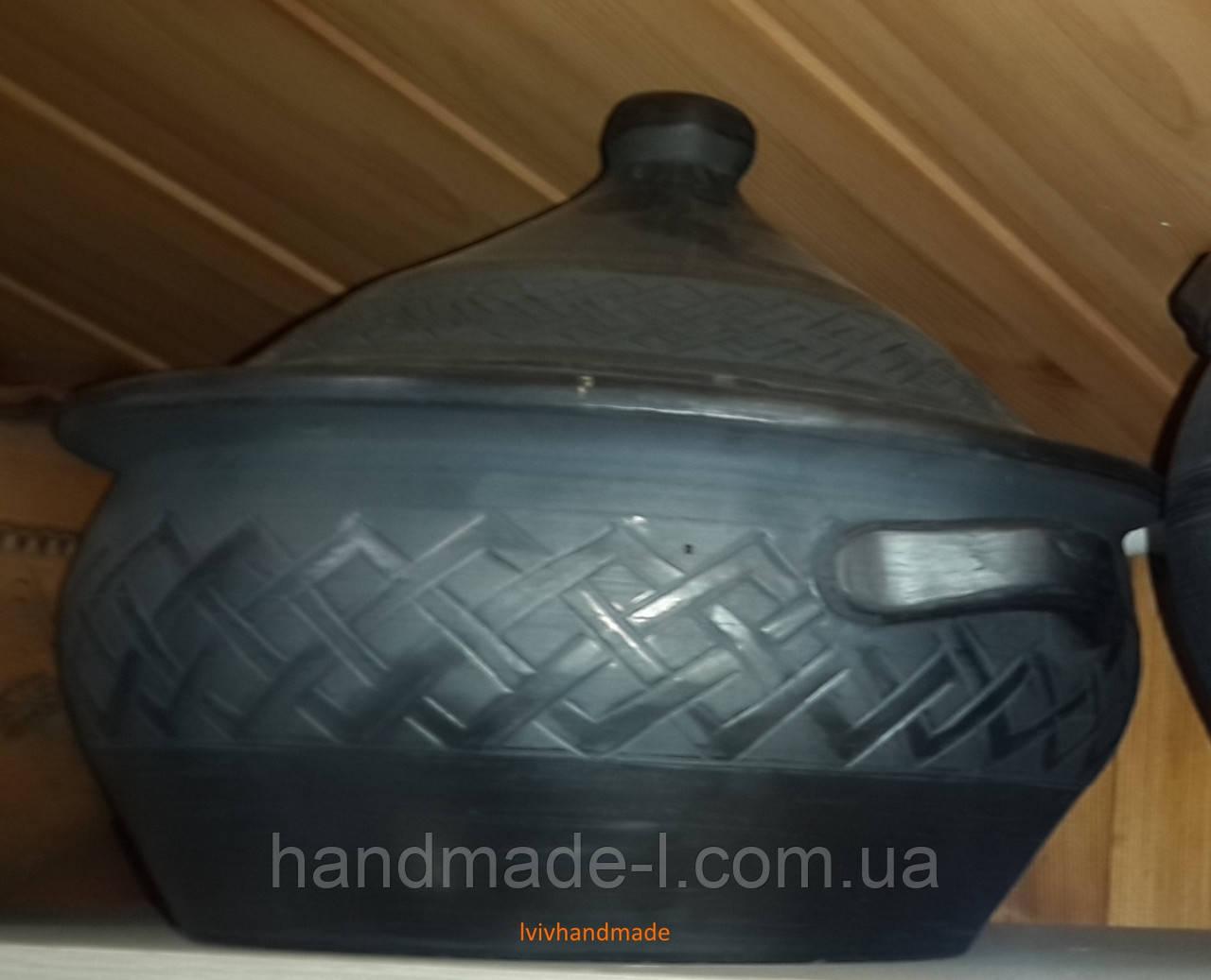 Пловниця гусятниця  керамічна для запікання в духовках