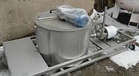 Емкость нержавеющая с мешалкой на 170 л