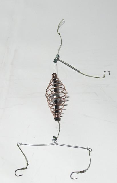 Кормушка в сборе Рыболов Style (пружина-шарик)
