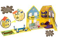 Игровой набор Загородный Дом Пеппы (домик с мебелью, 2 фигурки) Пеппа Peppa