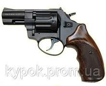 """Револьвер Флобера АТАК Arms Stalker 2.5"""" (барабан: сталь / чорний / пластик під дерево)"""