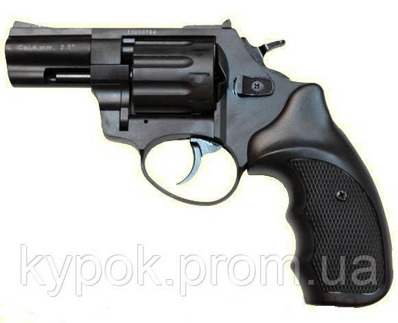 """Револьвер Флобера ATAK Arms Stalker 2.5"""" (барабан: сталь / черный / пластик)"""