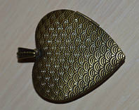 Медальон фоторамка  на 2 фото 42*40*10 mm