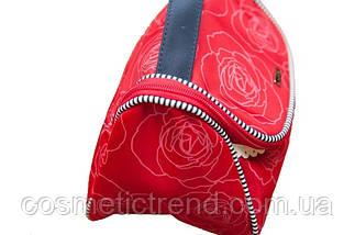 Косметичка женская дорожная Reed Marina Red 7546 (Польша) 22.5*14*14.5 см, фото 2