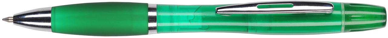 Ручка пластиковая VIVA PENS Duo зеленая