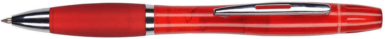 Ручка пластиковая VIVA PENS Duo красная