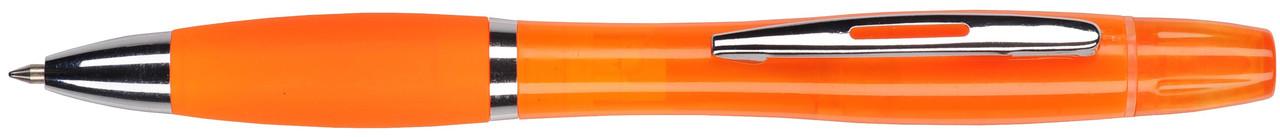 Ручка пластиковая VIVA PENS Duo оранжевая