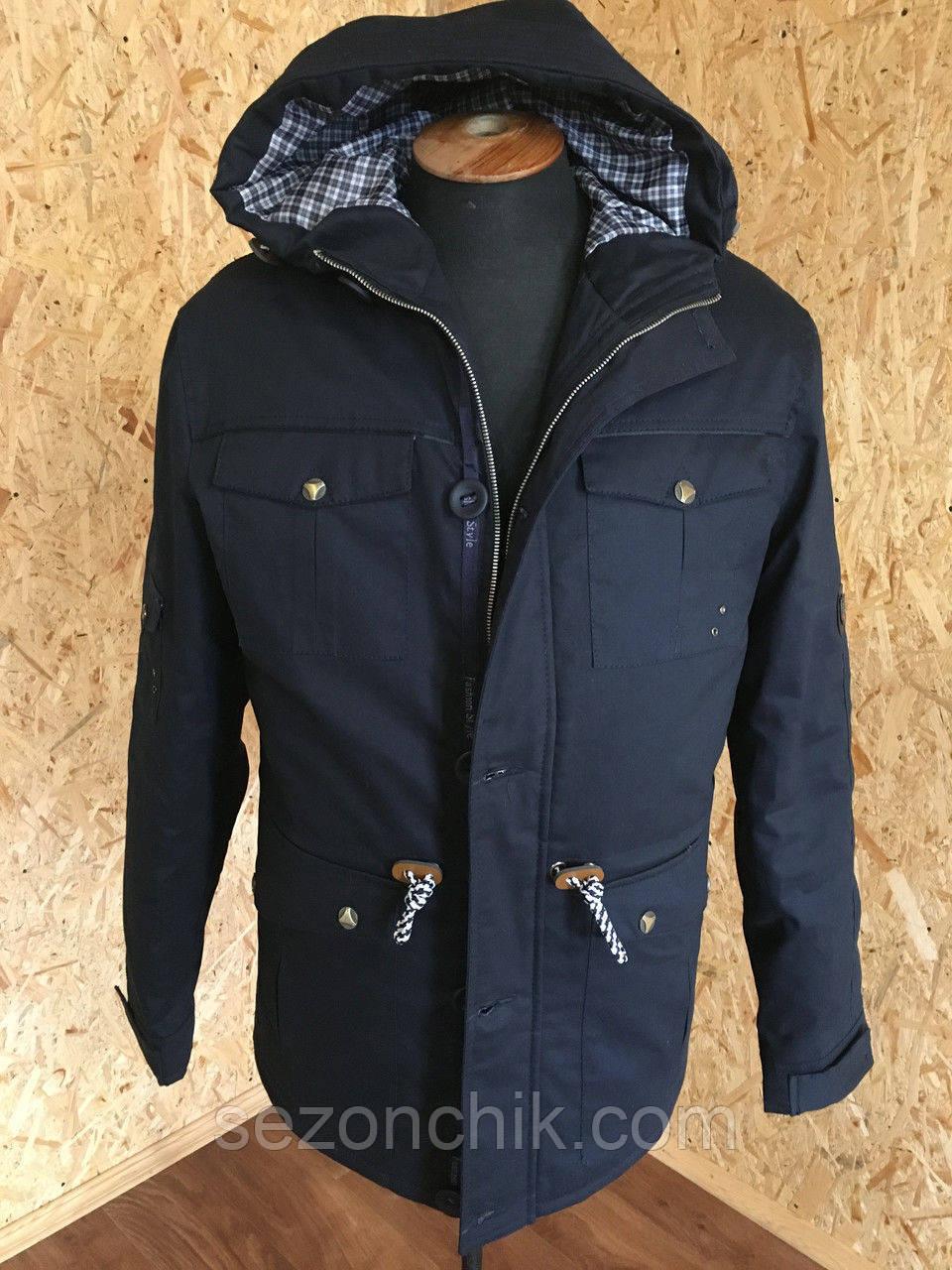 Куртка парка весенняя для мужчин