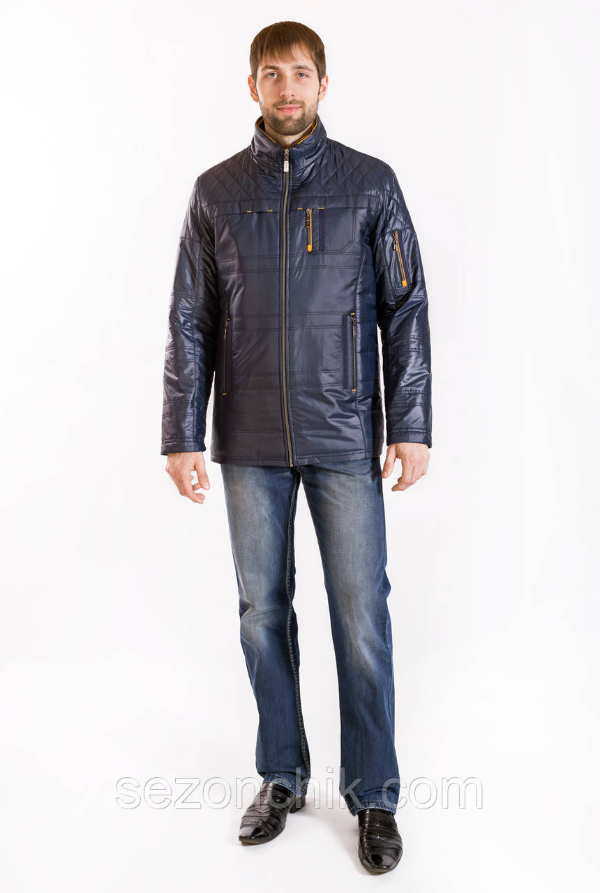 Модная куртка мужская весна осень