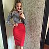 Костюм юбка-карандаш+укороченная кофточка, фото 6