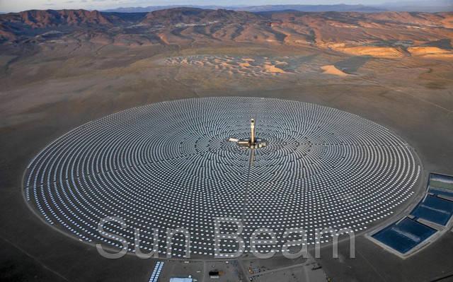 Новая солнечная электростанция генерирует энергию весь день и всю ночь