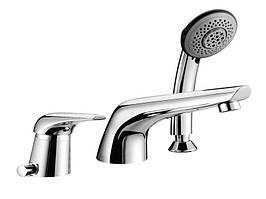 Смеситель для ванны Imprese SOLNICE на 3 отверстия