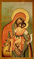 Икона Богоматерь Елеуса Киккская (1668 г. Симон Ушаков) 60*35 см
