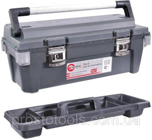 "Ящик для инструмента с металлическими замками 25,5"" Intertool  BX-6025"