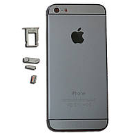Корпус для телефона Apple IPHONE 5 под 6 черный