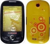 Корпус Samsung S3650 Corby жёлтый