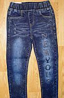 Джинсовые брюки для девочек 98-128рр, фото 1