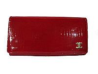 Кошелек женский Chanel CH P7032K, (кожа), красный, размер 185*90*25