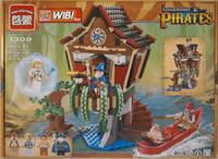 Конструктор BRICK 1309 пиратская серия, 4 фигурки, 506 деталей