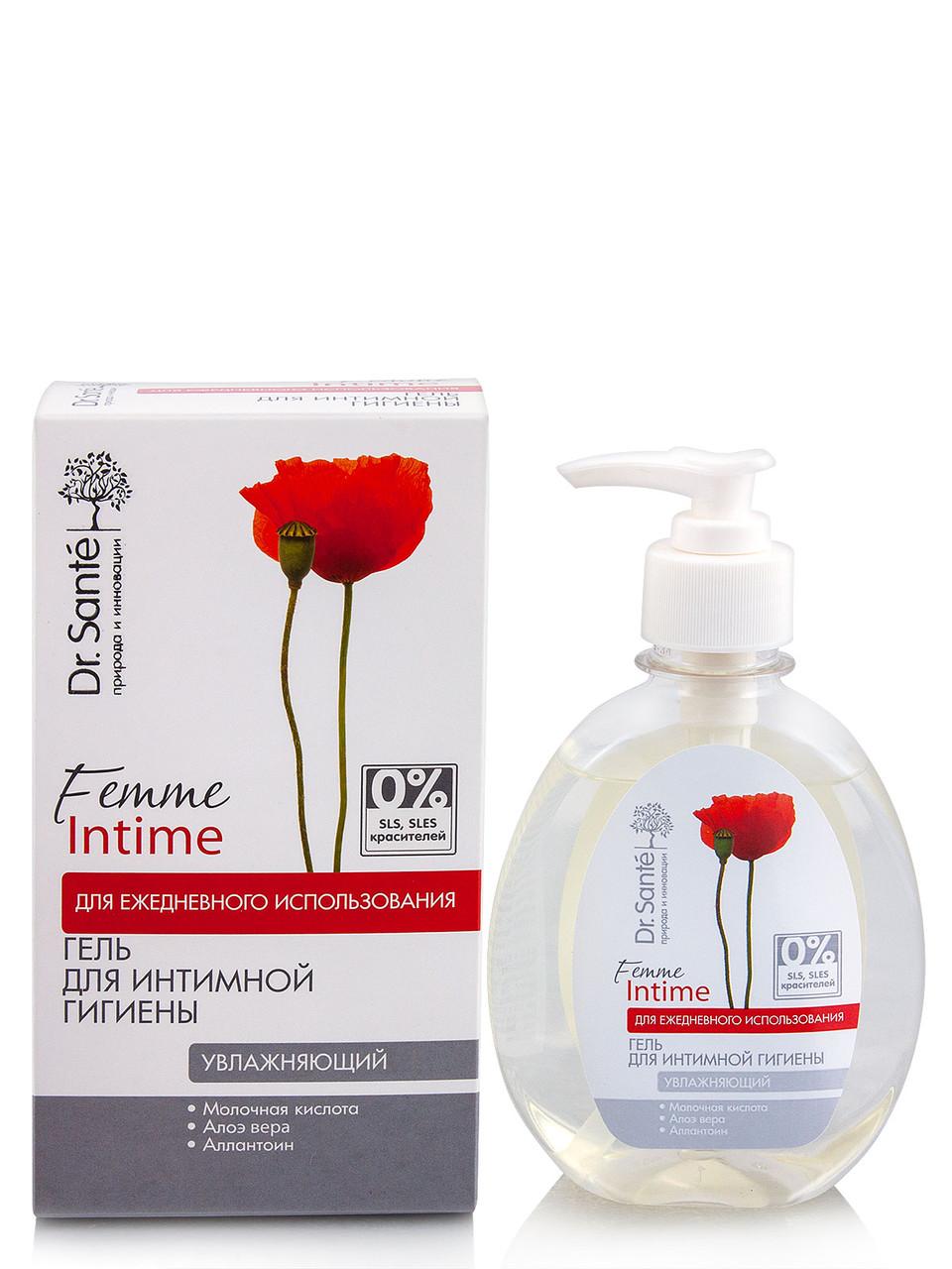 Зволожуючий гель для інтимної гігієни Dr.Sante Femme Intime, 230 мл