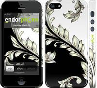 """Чехол на iPhone 5 White and black 1 """"2805c-18"""""""