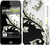 """Чехол на iPhone 5c White and black 1 """"2805c-23"""""""
