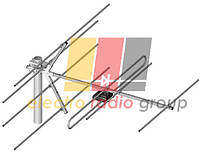 Эфирная антенна DIPOL 6-12/7 желтый пак.