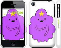 "Чехол на iPhone 3Gs Принцесса Пупырка. Adventure Time. Lumpy Space Princess v2 ""1221c-34"""