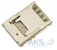 (Коннектор) Aksline Разъем SIM-карты LG D850 G3 / D855 G3 / LS990 G3  / VS985 G3 / D722 G3s / D724 G3s
