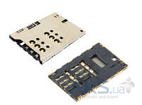 (Коннектор) Aksline Разъем SIM-карты Sony ST25i Xperia U