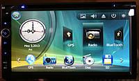 Автомагнитола 2Din с GPS DVD Bluetooth 7 дюймов, фото 1