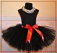 Черная юбка пачка