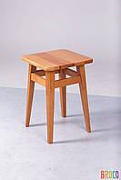 Табурет Микс Мебель на прямых ножках светлый орех