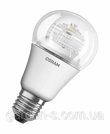 Светодиодная лампа OSRAM LED STAR CLASSIC A 60 10 W/827 E27 CL, фото 2