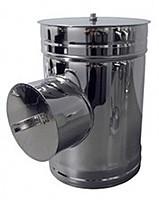 Ревізія термо ø 130/200 0.5 мм сталь нержавійка/оцинковка