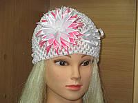 Ажурная шапочка для девочки на 1-3 года