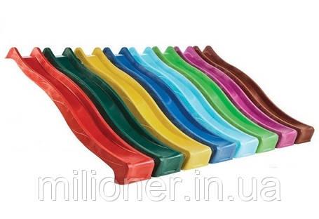 Горка детская пластиковая скользкая спуск 2,2 метра, фото 2