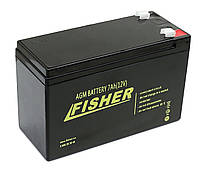 AGM аккумулятор Fisher 7 Aч для эхолота