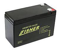 AGM акумулятор Fisher 7 Ач для ехолота