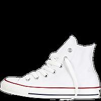 Кеды Converse All Star белые высокие Реплика, фото 1