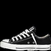 Кеды Converse All Star черные низкие 30-40рр