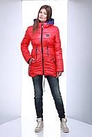Молодёжная куртка весна S 513 яркая