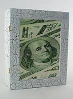 """Оригинальная ключница. Белая """"Доллар"""" (Сделано в Украине), фото 1"""