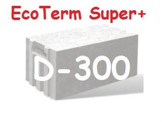 "Газоблок ""AEROC"" EcoTerm Super Plus D-300 стеновой 600х200х300 гладкий"