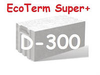 "Газоблок ""AEROC"" EcoTerm Super Plus D-300 стеновой 600х200х300 гладкий, фото 1"