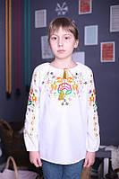 """Вышиванка для девочек """"Петриківський розпис"""" ( арт. ВА1-81.8.0 ), фото 1"""