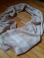 Тонкий шарф Michael Kors кремовый