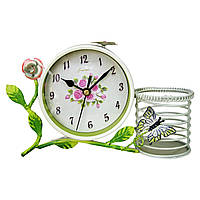 Годинник з підсвічником
