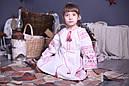 Платье вышитое детское с длинным рукавом, фото 3